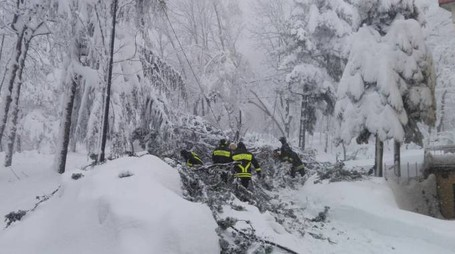 Neve in Valmarecchia