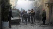 La guerra in Siria (Ansa)