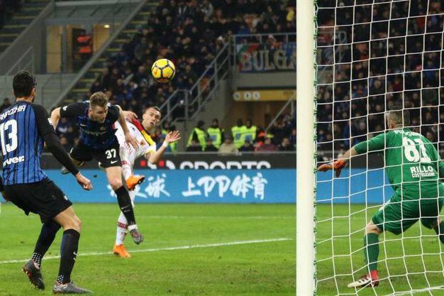 Inter-Benevento 1-0, Skriniar (Lapresse)