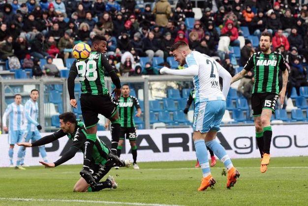 Sassuolo-Lazio 0-3, Milinkovic Savic (Ansa)