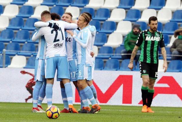 Sassuolo-Lazio 0-1, Milinkovic Savic (Ansa)