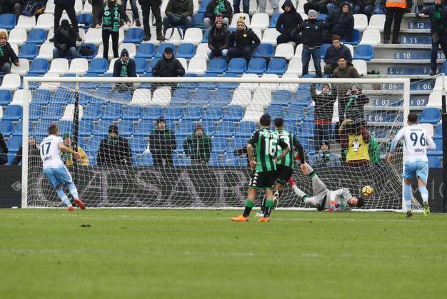 Sassuolo-Lazio 0-2, Immobile (Ansa)