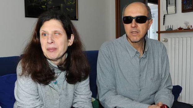 Roberta De Censi e il marito Sergio Favetti