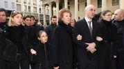 Letizia Moratti coi figli