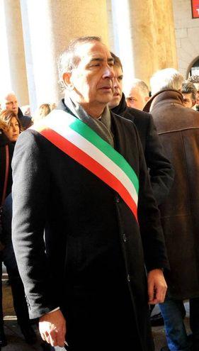 Il sindaco Giuseppe Sala (Newpress)