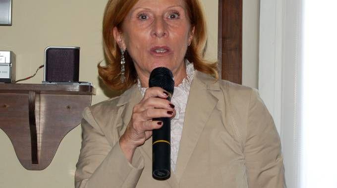 L'ex sindaco Marita Piccaluga