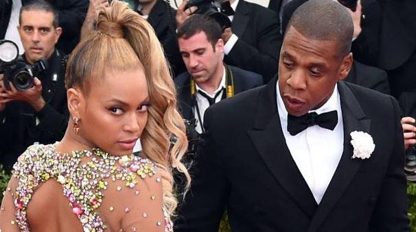 Beyoncè e Jay-Z (Afp)