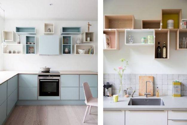 Arredare una cucina senza pensili ma ricca di stile - Magazine ...