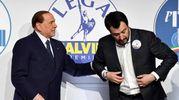 La giacca di Salvini (Lapresse)