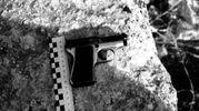 Una delle pistole nel covo di Igor