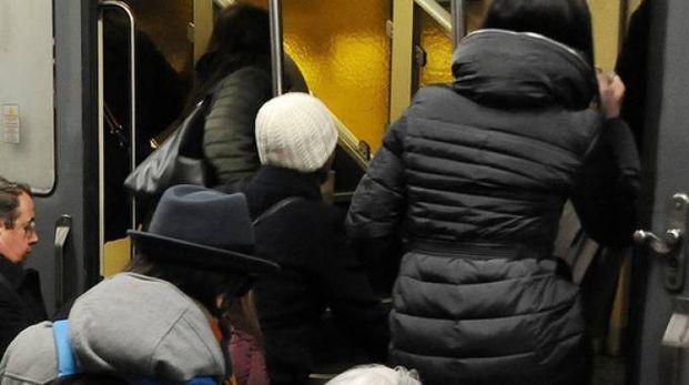 Pendolari della linea Milano-Mortara (Studiosally)