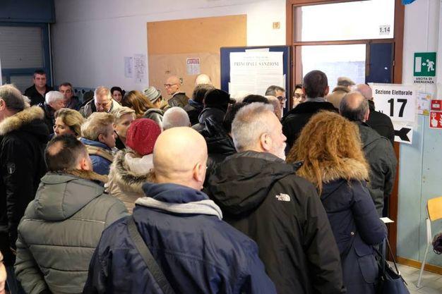 Al voto nelle scuole Cittadella (FotoFiocchi)