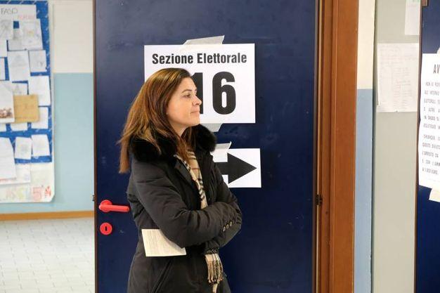 I seggi alle scuole Cittadella (FotoFiocchi)