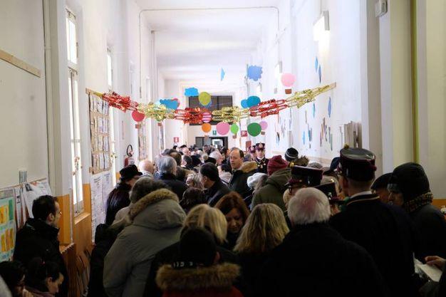 Al voto nelle scuole De Amicis (FotoFiocchi)