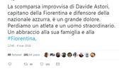 Il tweet di Luca Lotti