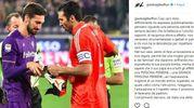 Il post su Instagram di Buffon