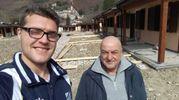 Castelsantangelo sul Nera, Marco Alfani e il nipote vivono in roulotte, sono andati a vota