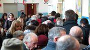 Gente ai seggi (foto Petrangeli)