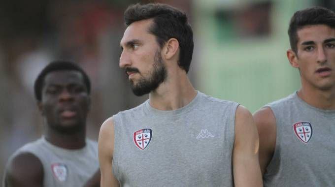 Davide Astori nel Cagliari