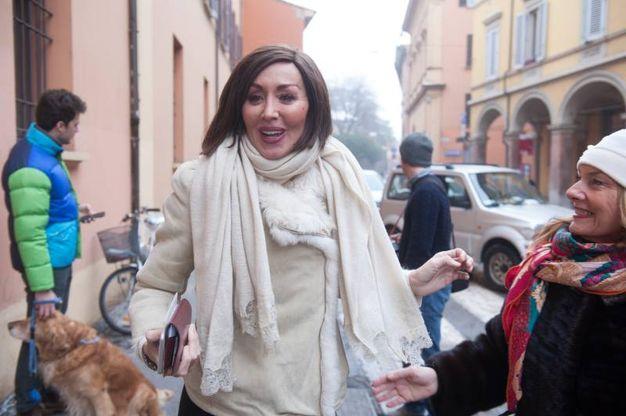 Anna Maria Bernini al voto (Foto Schicchi)