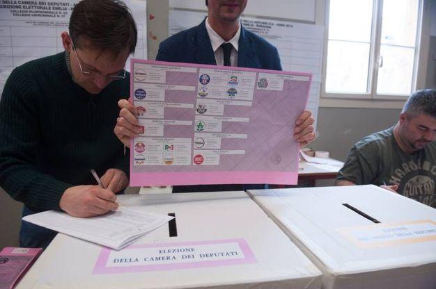 Elezioni 4 marzo 2018 a Bologna (Foto Schicchi)