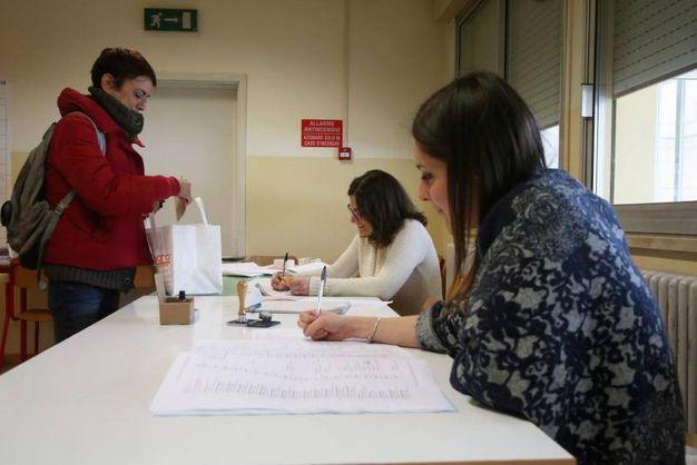 Al voto (foto Ravaglia)