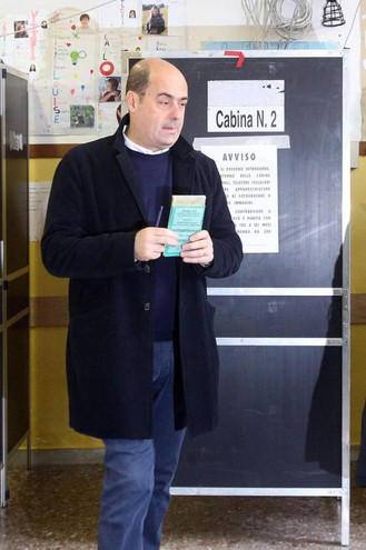 Nicola Zingaretti, presidente del Lazio (Ansa)