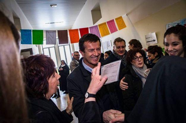 Giorgio Gori, candidato governatore lombardo per il Pd (Dire)