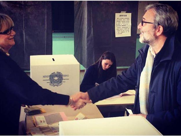 Il voto di Roberto Giachetti (Dire)