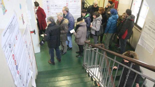 Elezioni politiche 2018 ad Ancona (foto Antic)