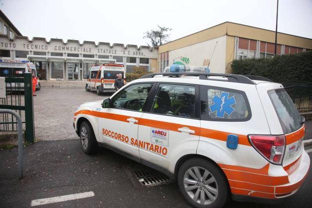 Malore all'istituto scolastico Abba Ballini di Brescia