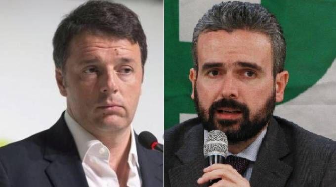 Matteo Renzi e Dario Parrini
