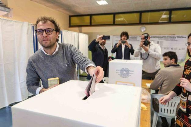 Luca Lotti, eletto alla Camera nel collegio Toscana 4 Empoli per il centrosinistra (foto Tommaso Gasperini/Germogli)