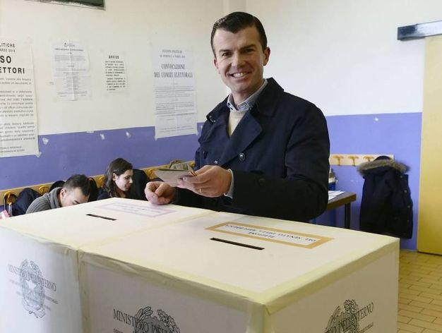 Giorgio Silli eletto alla Camera nel collegio Toscana 5 Prato per il centrodestra (foto Attalmi)