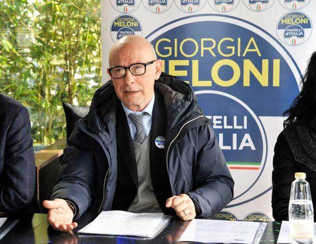 Riccardo Zucconi eletto nel collegio Toscana 9 Lucca per il centrodestra (foto Alcide)