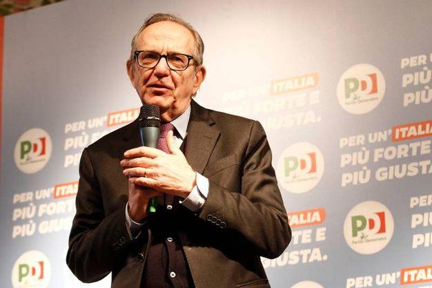 Pier Carlo Padoan eletto alla Camera nel collegio Toscana 12 Siena per il centrosinistra (foto Di Pietro)
