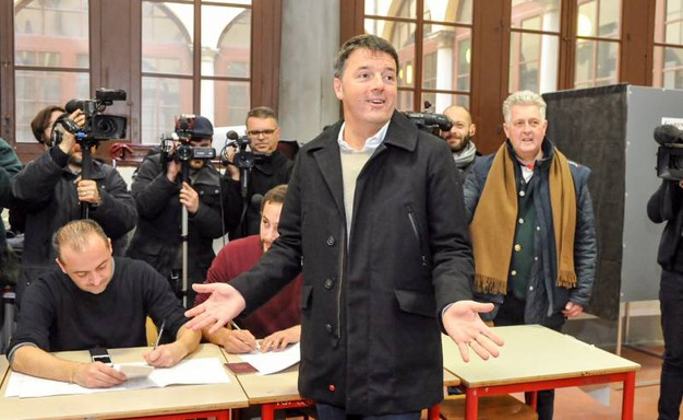Matteo Renzi ha vinto il collegio uninominale Toscana 1 Firenze al Senato (foto Germogli)