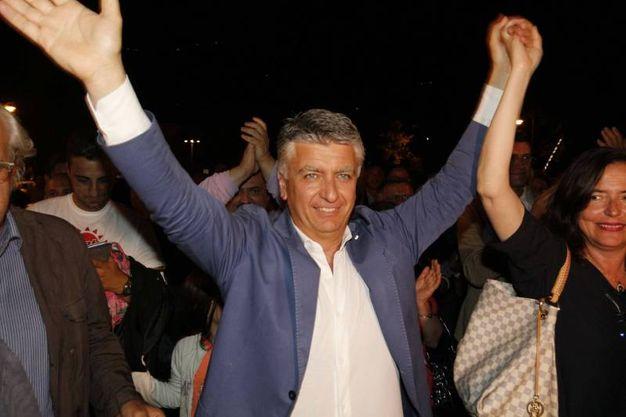 Massimo Mallegni ha vinto per il centrodestra il collegio Toscana 5 Lucca-Massa Carrara-Versilia per il Senato (foto Umicini)