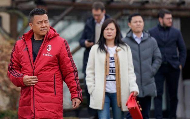 Li Yonghon con la moglie (Lapresse)