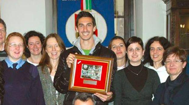 Davide Astori premiato in consiglio comunale