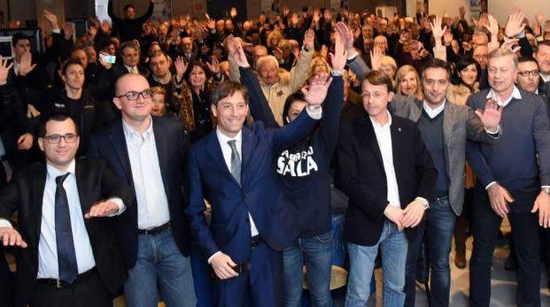 Fabrizio Sala festeggia la vittoria