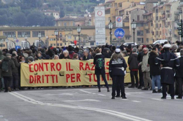 Alcuni momenti della manifestazione (Umberto Visintini / New Press Photo)
