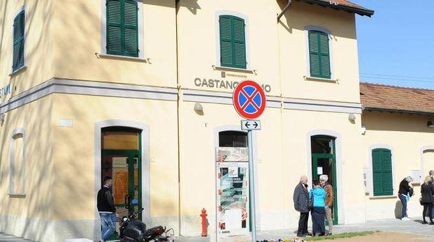 La stazione ferroviaria di Castano Primo