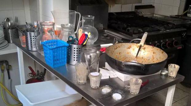 Pedaso, la cucina dello chalet MatePaya (foto Zeppilli)