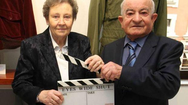 Emilio D'Alessandro con la moglie Janette