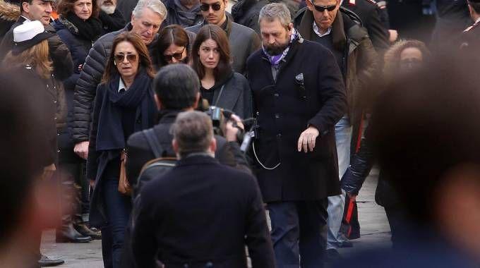Francesca Fioretti, la compagna di Davide Astori in Santa Croce (Liverani)