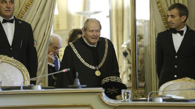 Giorgio Lattanzi, neo presidente della Corte Costituzionale (Ansa)