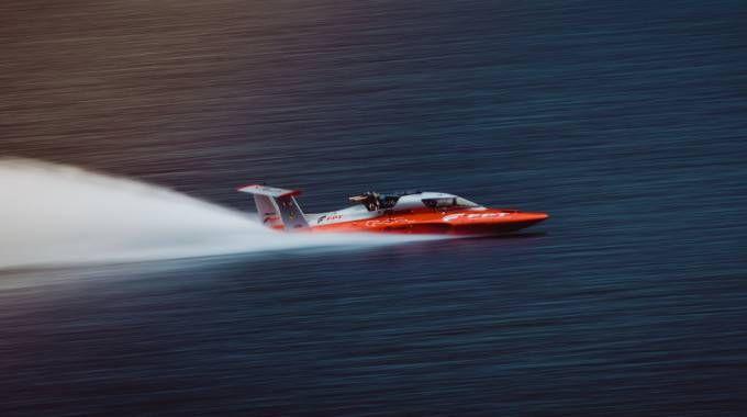 Il New Diesel Power Boat World Speed Record sul lago di Como
