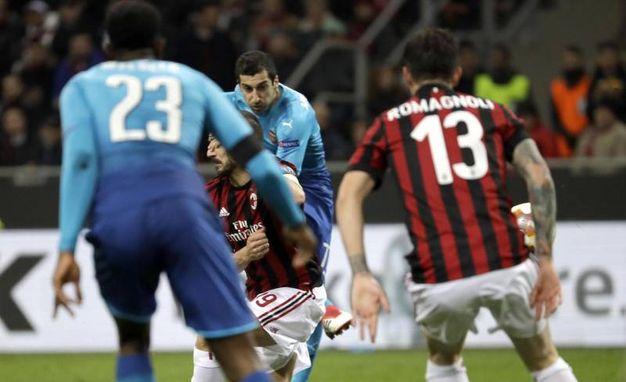 Il gol di Mkhitaryan (Ansa)