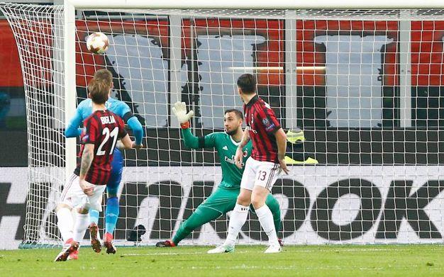 Il gol di Mkhitaryan (Lapresse)